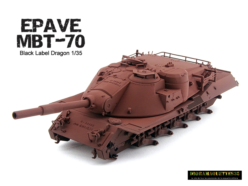 MBT-70 (Kpz.70) [Dragon gamme Black Label] – 1/35 (Montage en cours) Mbt-7052