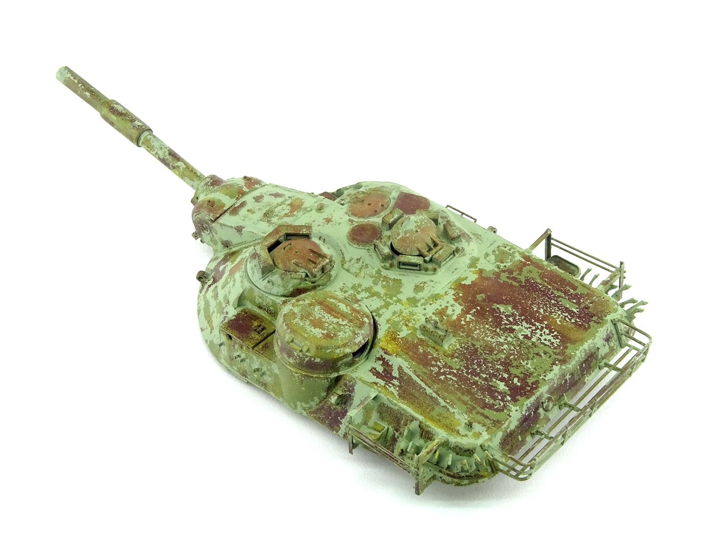 MBT-70 (Kpz.70) [Dragon gamme Black Label] – 1/35 (Montage en cours) Mbt-7074