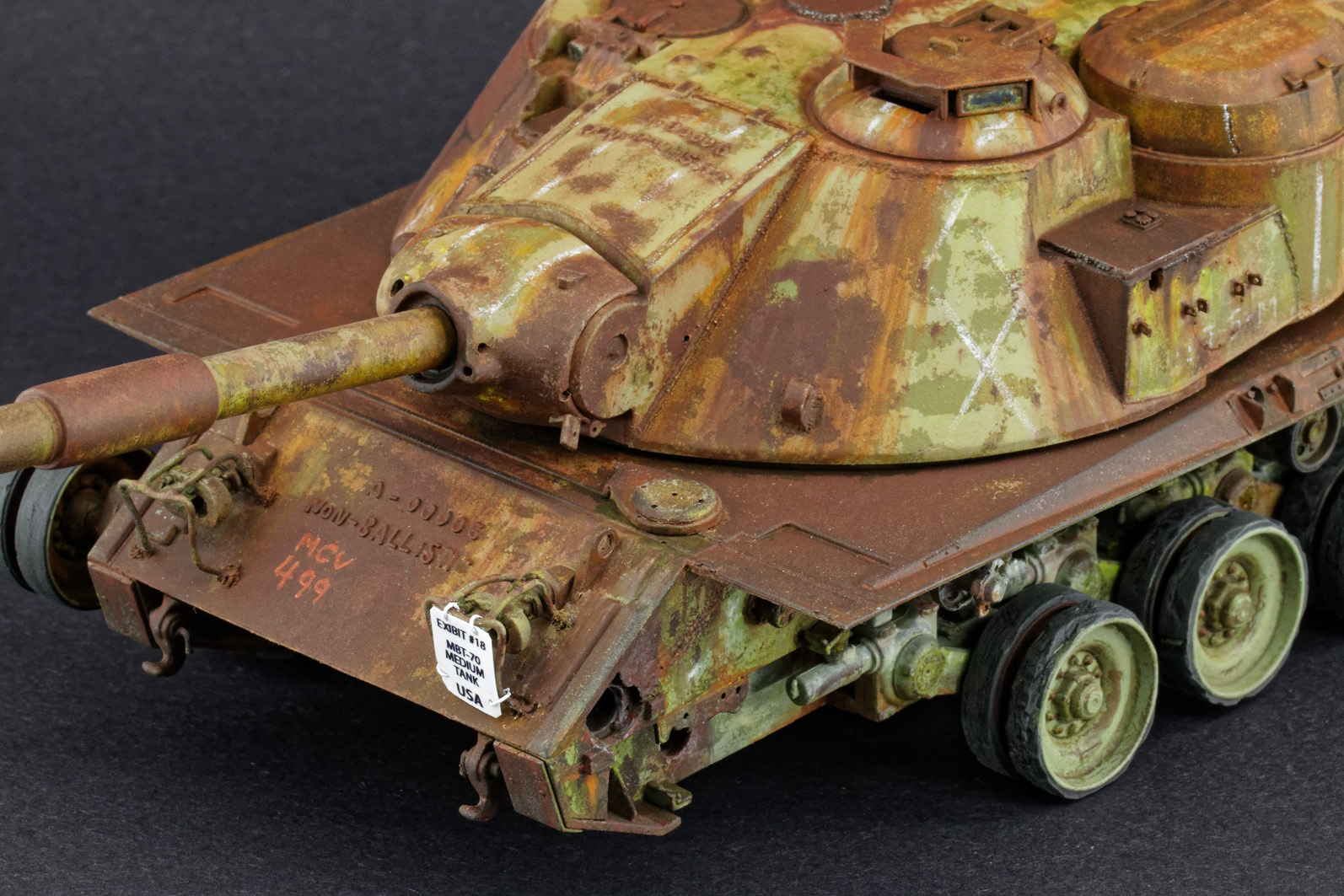 MBT-70 (Kpz.70) [Dragon gamme Black Label] – 1/35 (Montage en cours) Mbt-7085