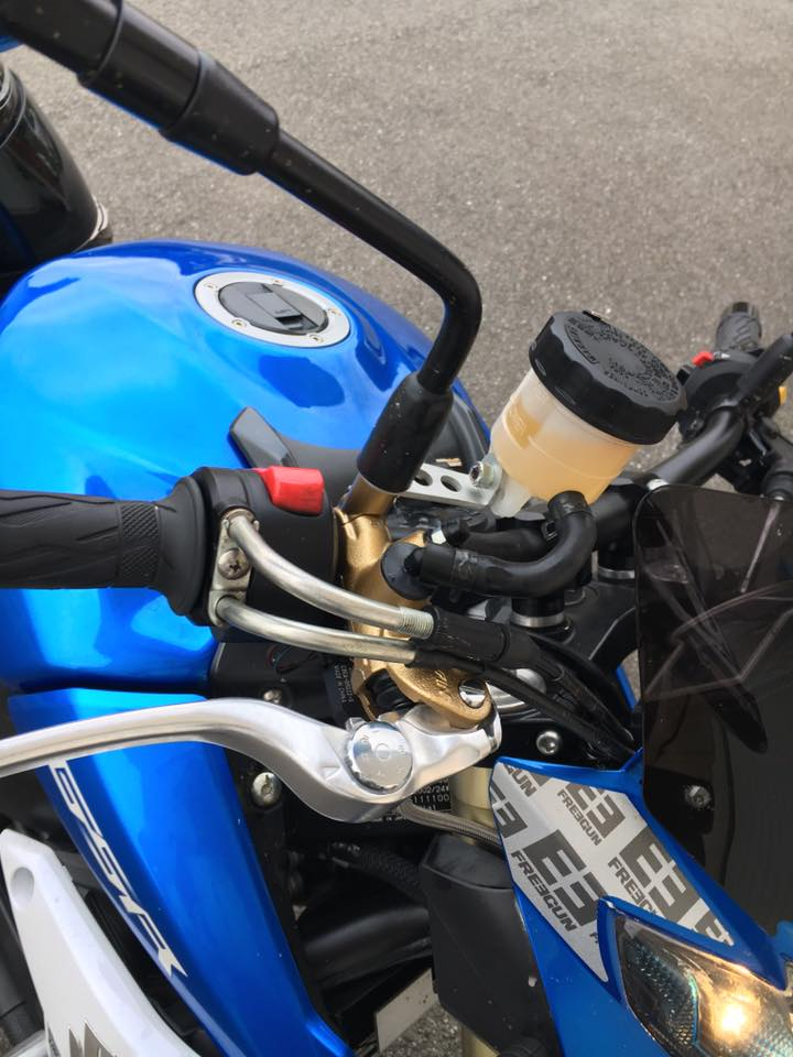 maitre cylindre radial Nissin PR19 et purge RADIAL + étriers  15170910