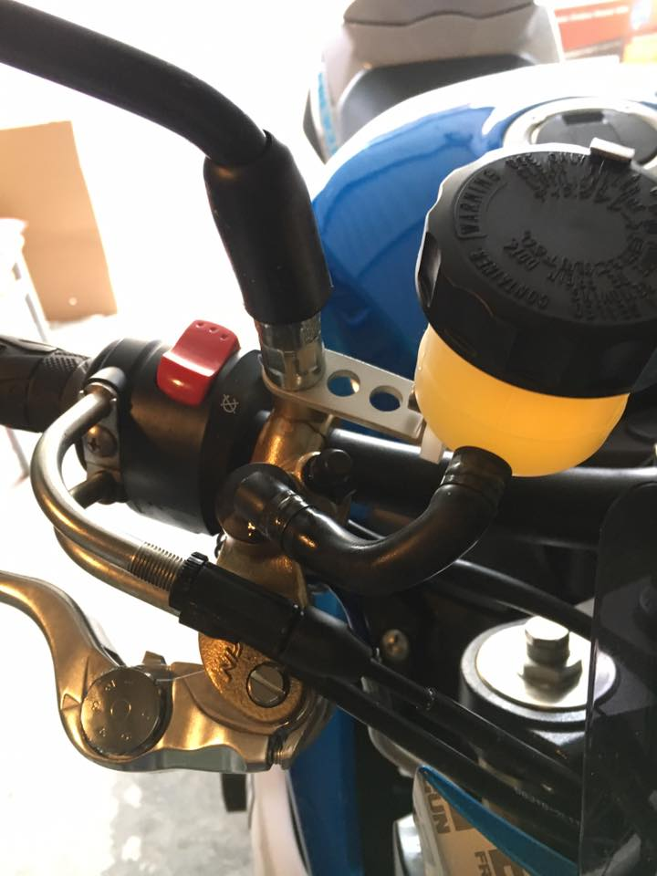 maitre cylindre radial Nissin PR19 et purge RADIAL + étriers  15253510