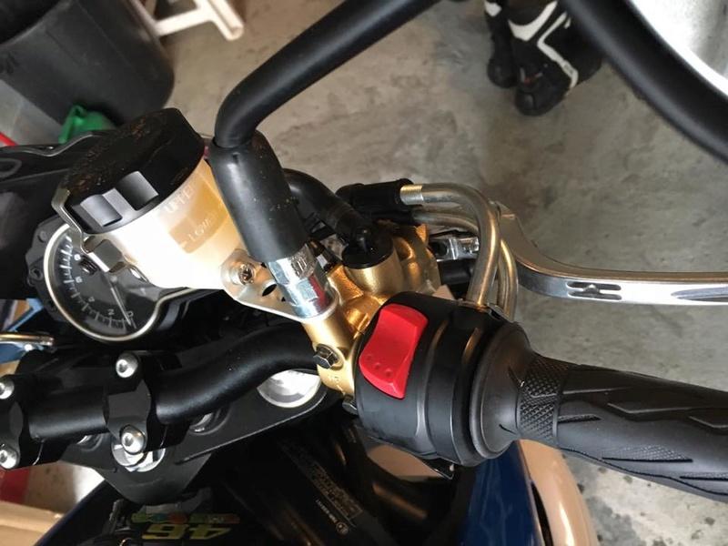 maitre cylindre radial Nissin PR19 et purge RADIAL + étriers  15284910