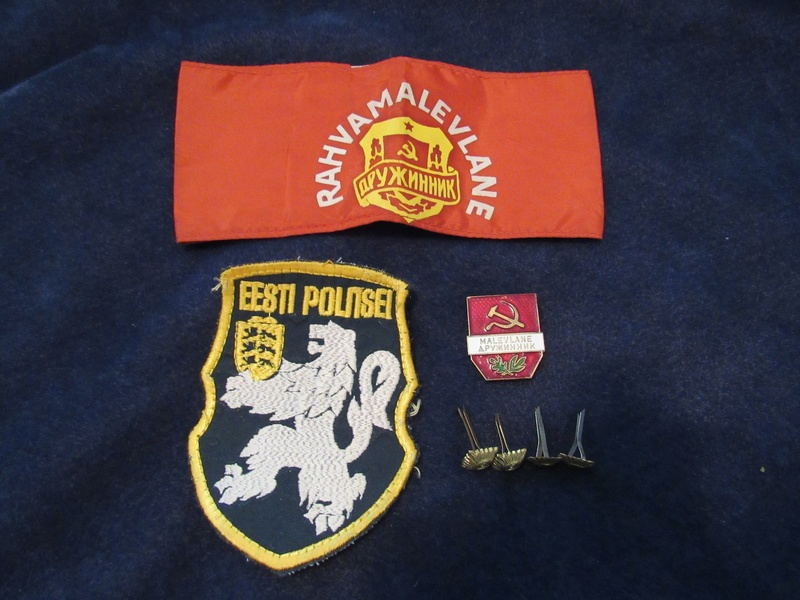 My Estonian Military/Police Stuff Estoni23