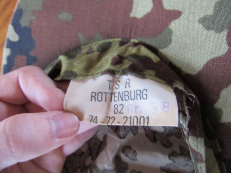 Early Flecktarn Camo  West_g10