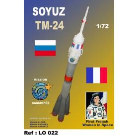 Maquette Soyouz TM 24 vol Cassiopée Soyouz10