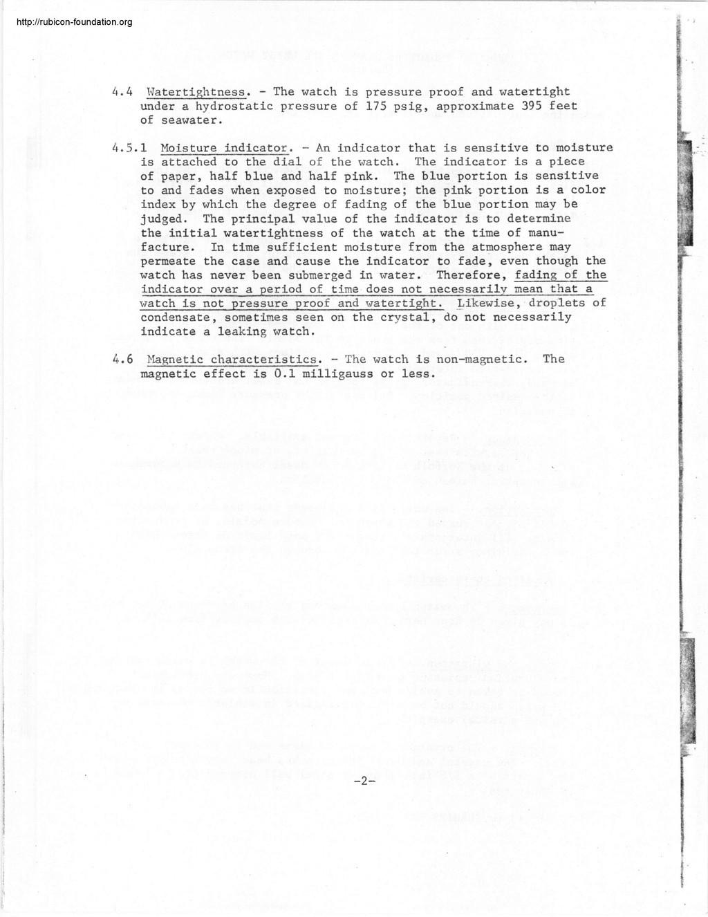 Enicar - Tests US Navy : Enicar, Rolex, Blancpain, Zodiac 001215