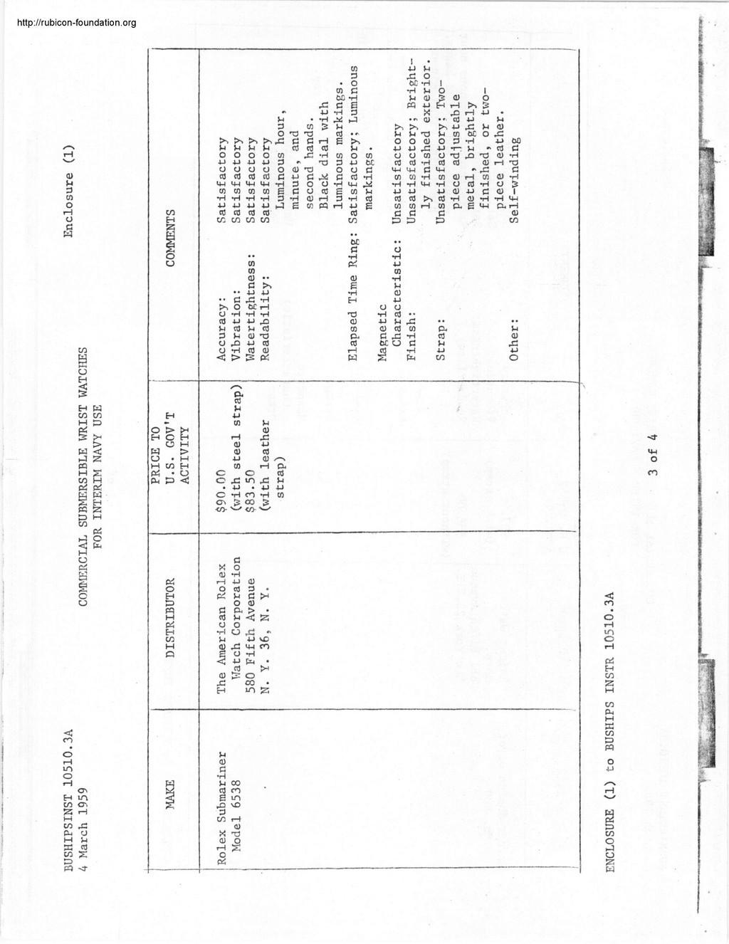 Enicar - Tests US Navy : Enicar, Rolex, Blancpain, Zodiac 002015
