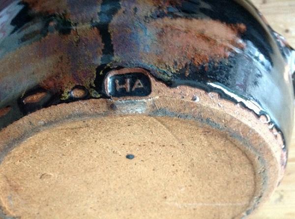 Identify studio potter HA? Img_1011