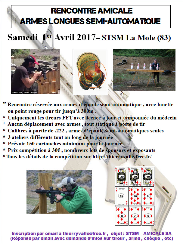 "FUN TIR ""AR"" 300m - Club STSM La Mole Amical11"