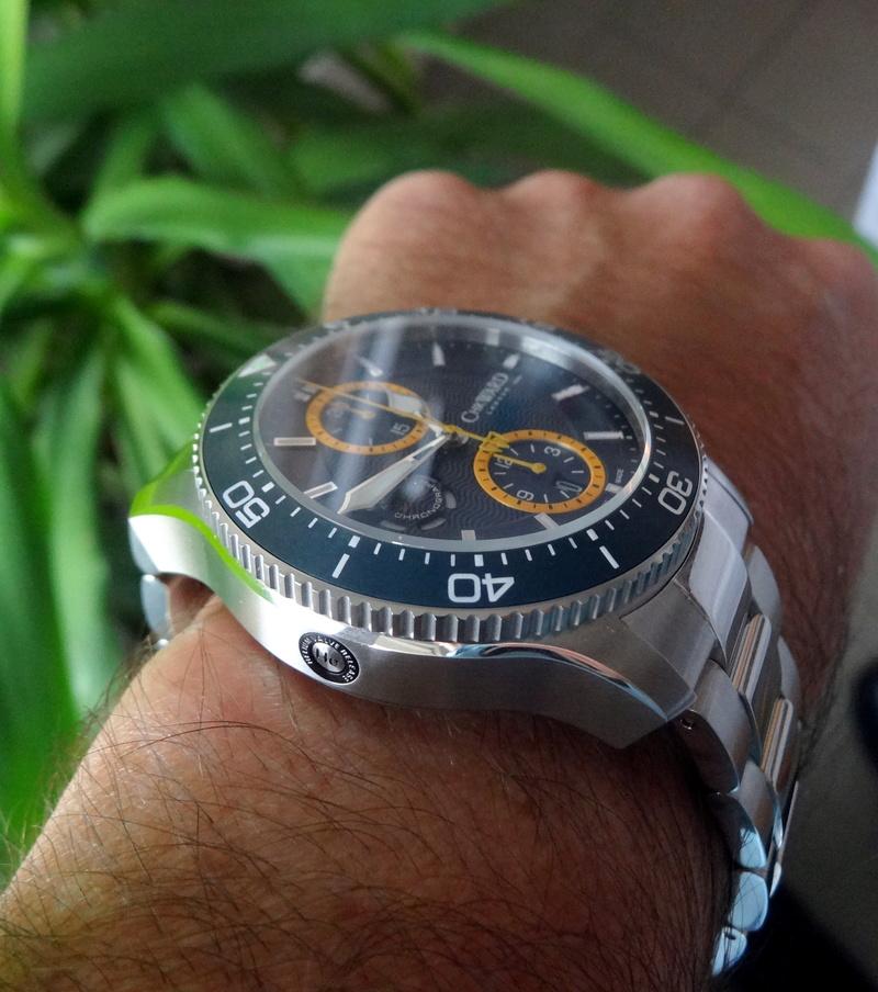 Un nouveau chrono de plongée chez Christopher Ward - Page 2 Dsc05614
