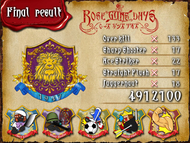 Rose Guns Days Score10