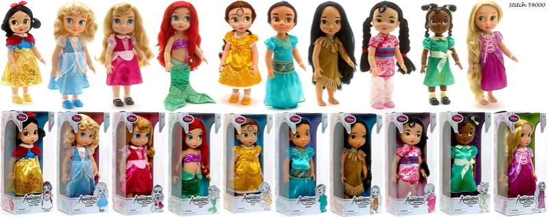 """Poupées """"Princesses Disney"""" Animat10"""