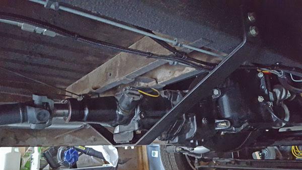 Motor Mount - Throttle linkage issue  65 G Vvf39110
