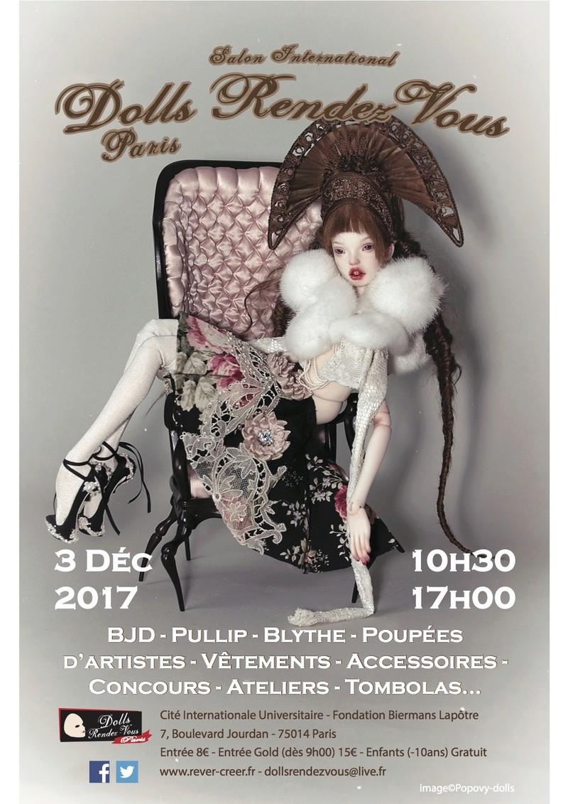 Dolls Rendez-Vous PARIS  - 03/12/2017 - Liste des stands p.4 Flyer_10