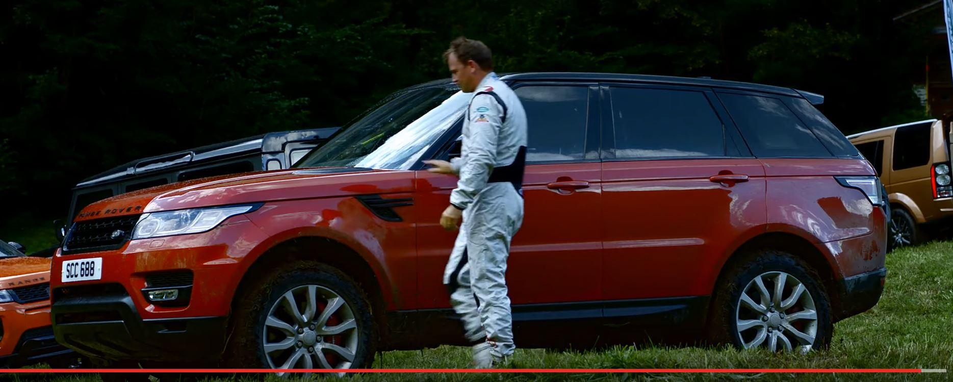 Discesa range rover sport pista inferno  Infern10