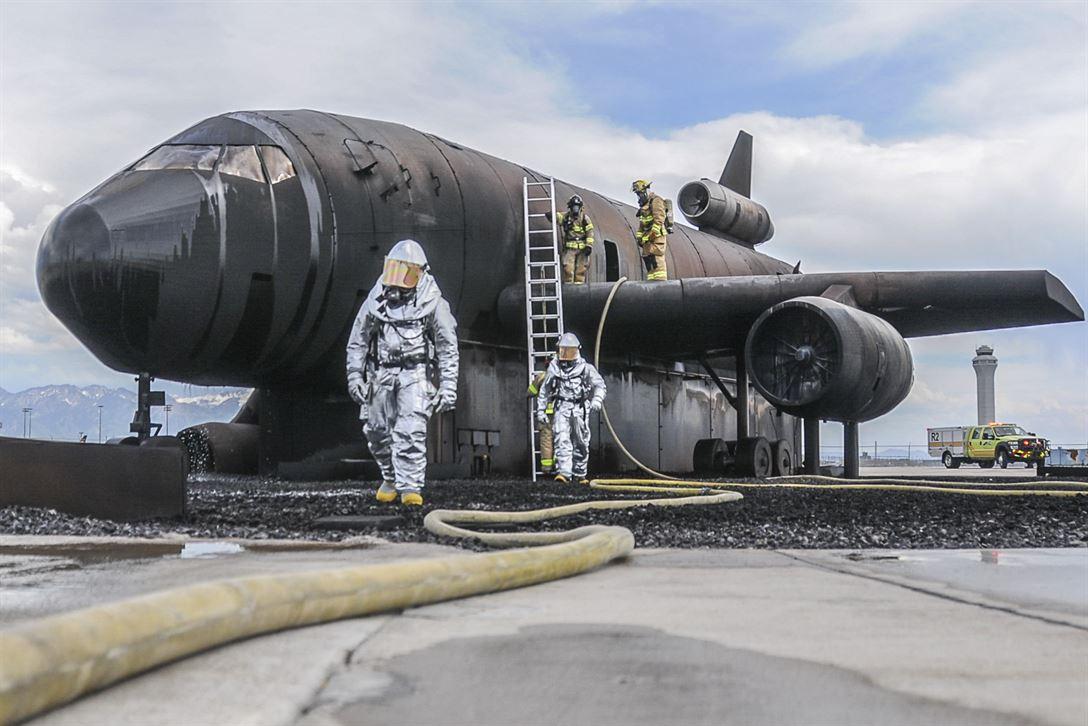 Simulateur d'Avion en Feu Westpointe  Salt Lake City Fire10