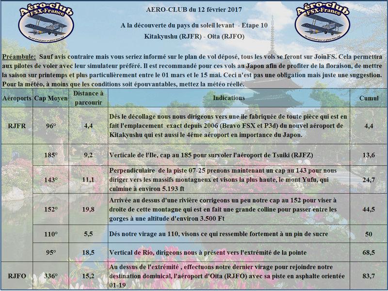 Aéro-club du dimanche Matin- A la découverte du pays du soleil Levant- Etape 10 Japan110