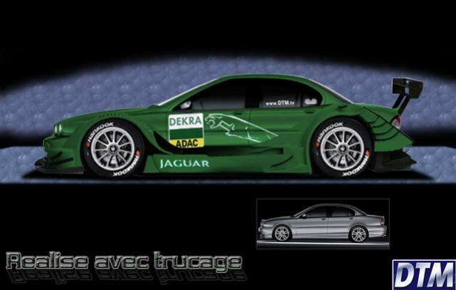DTM (Deutsche Tourenwagen Masters) Jaguar10