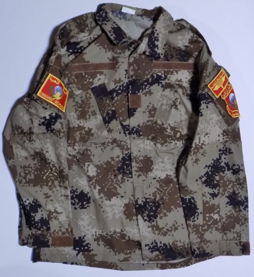ISOF Black and Camouflage Uniforms Cammo_10
