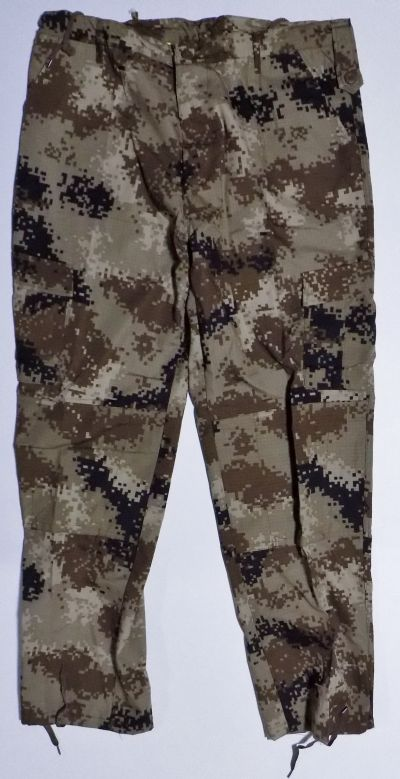 ISOF Black and Camouflage Uniforms Cammo_12