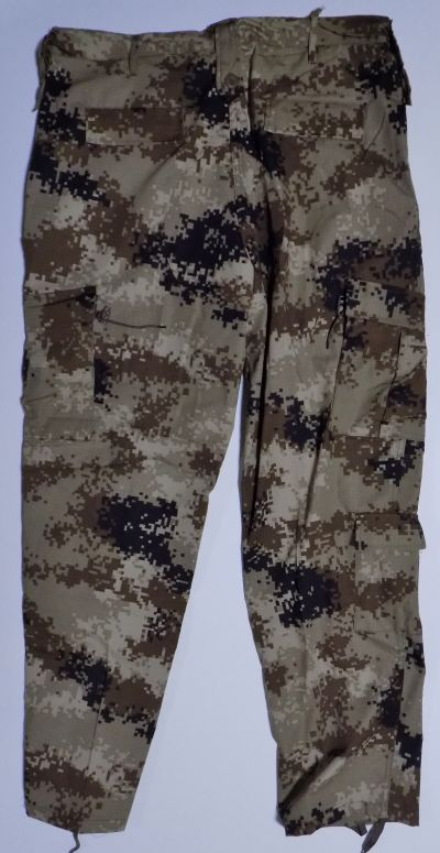 ISOF Black and Camouflage Uniforms Cammo_13