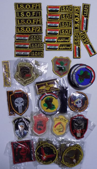 A few patches from Iraq Dscn4512