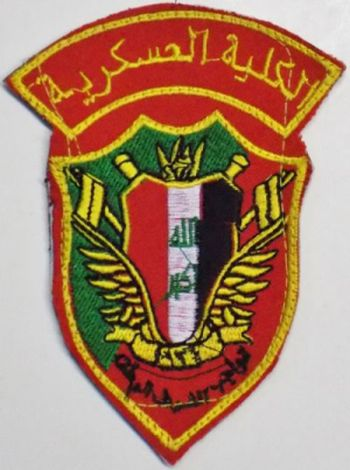 Iraqi Police Academy and Military College arm patches Milita10