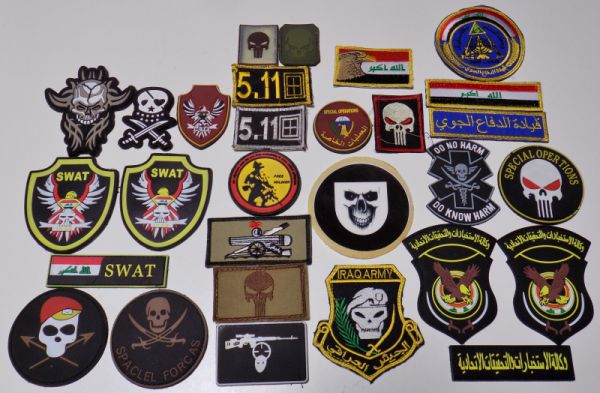 Iraqi patches are a changing Patche10