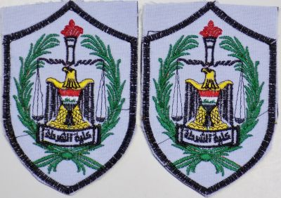 Iraqi Police Academy and Military College arm patches Police10