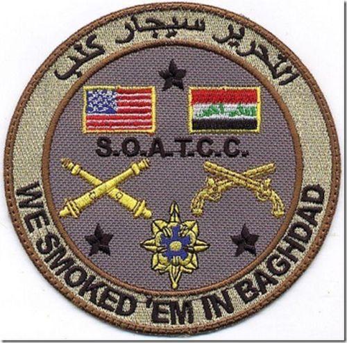 U.S.-Iraqi patch Smoked10