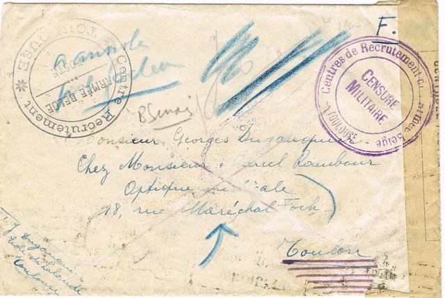 Les marques de l'armée belge repliée en France (mai-juin 1940) Ccf25110