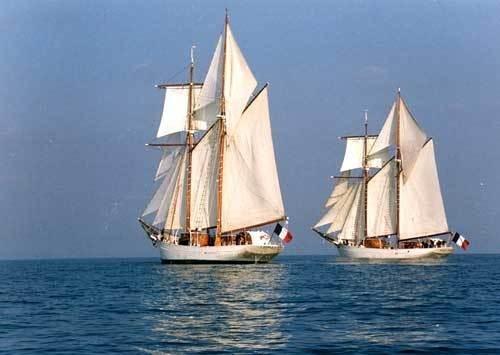 Les voiliers école de la Marine nationale Belle-11