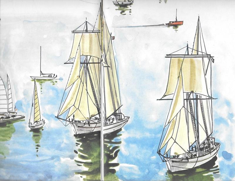 Les voiliers école de la Marine nationale Etoile10