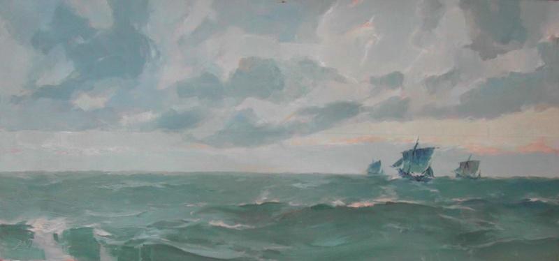 Peinture maritime : nouveau hobby ? - Page 21 Royon10