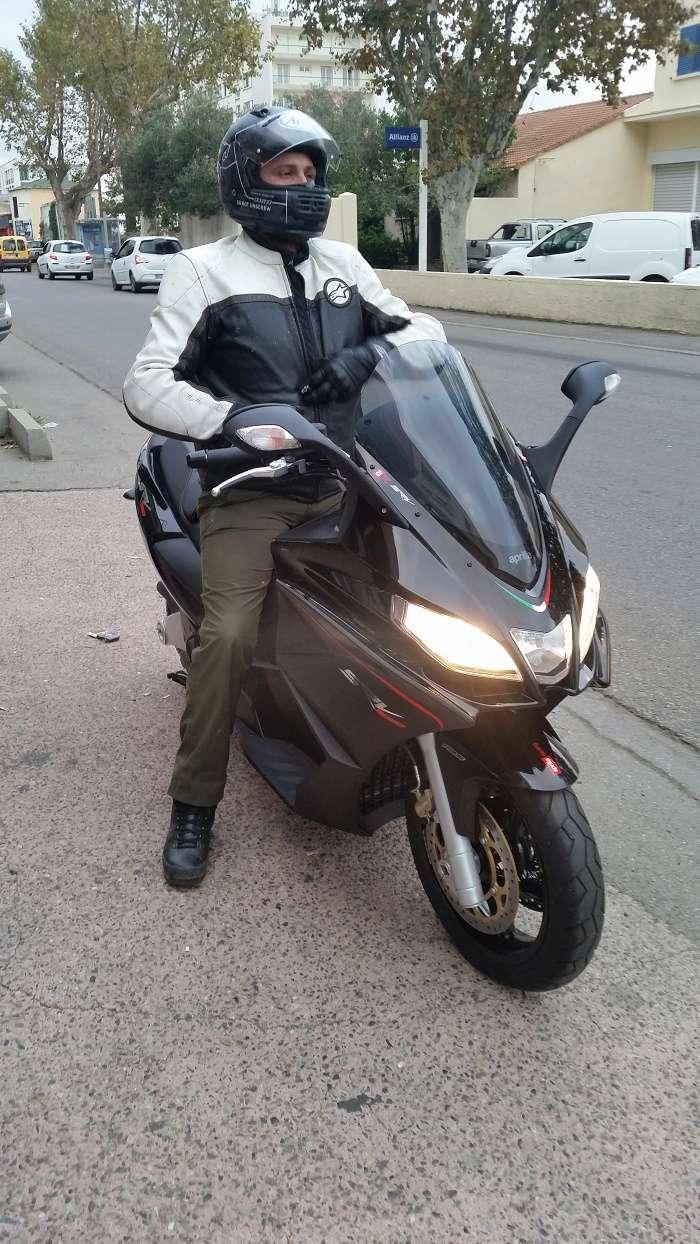 AVIS Srv 850 après 100km!!!! 20161114