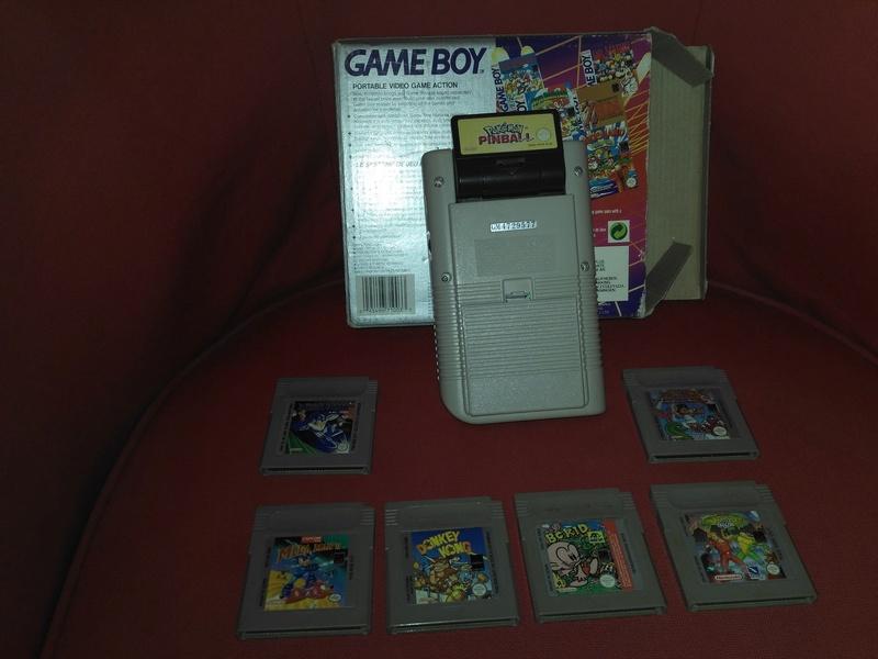 [ESTIM]Lot Game Boy Fat + Jeux Gb_dos11