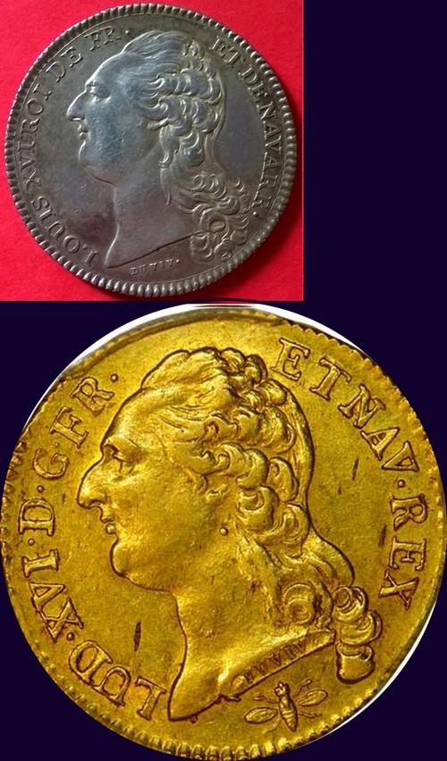 Jeton Louis XVI, Académie Françoise Ecu_lo10