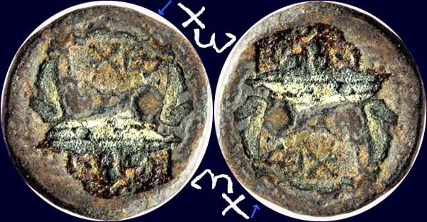 bronze grec à la tête laurée Marcus10