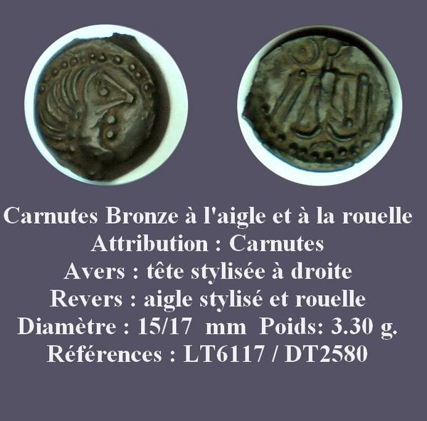 CARNUTES à l'aigle et à la rouelle (LT : 6117  -  DT : 2580) Mbac_c10