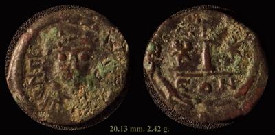 Assarion pour Andronicus III ... avec traces de surfrappe ! Mbac_t10