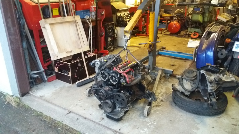 Just another corolla - DIY Caterham frame 7age and ´93 Liftback RWD - Page 7 20170111