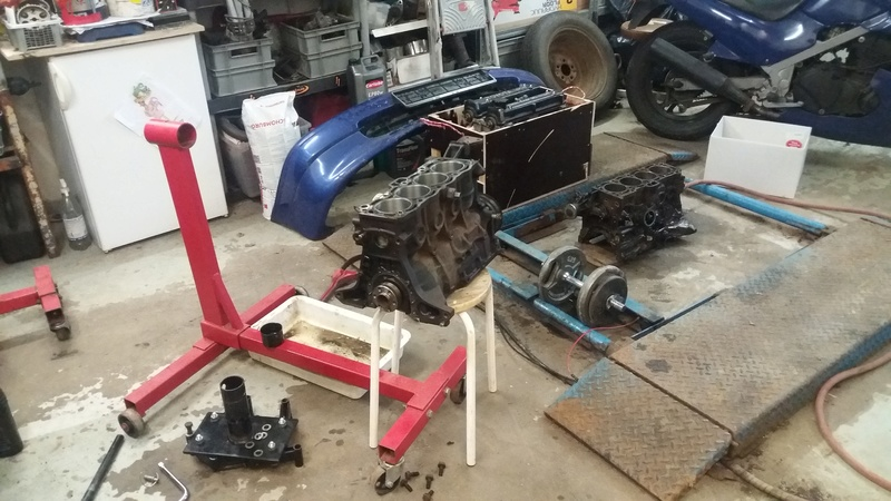 Just another corolla - DIY Caterham frame 7age and ´93 Liftback RWD - Page 6 20170219