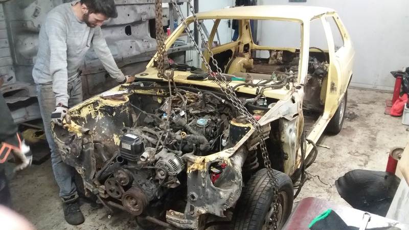 Just another corolla - DIY Caterham frame 7age and ´93 Liftback RWD - Page 6 20170232