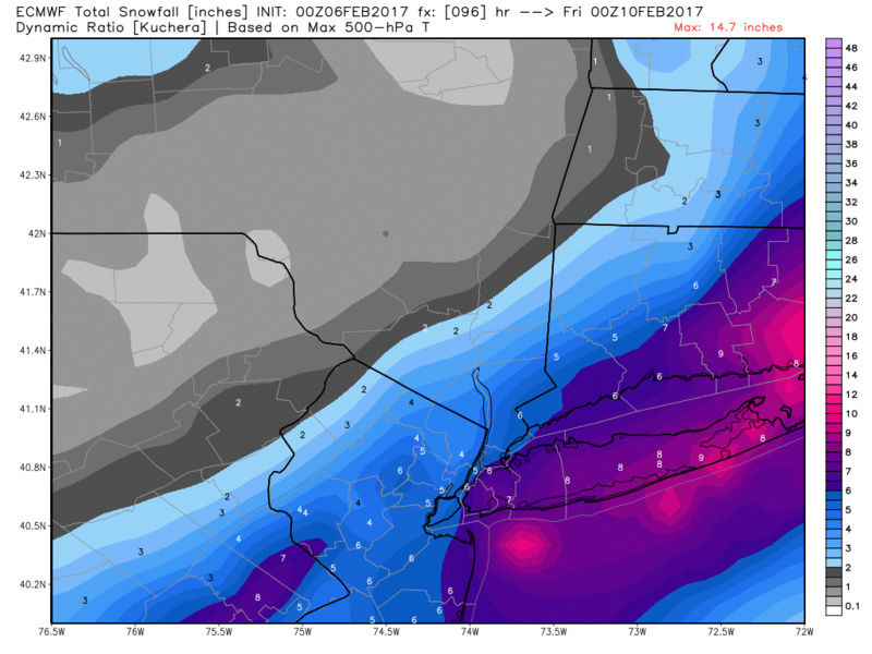 Possible Snowstorm Thursday, February 9th - Page 2 Ecmwf_26