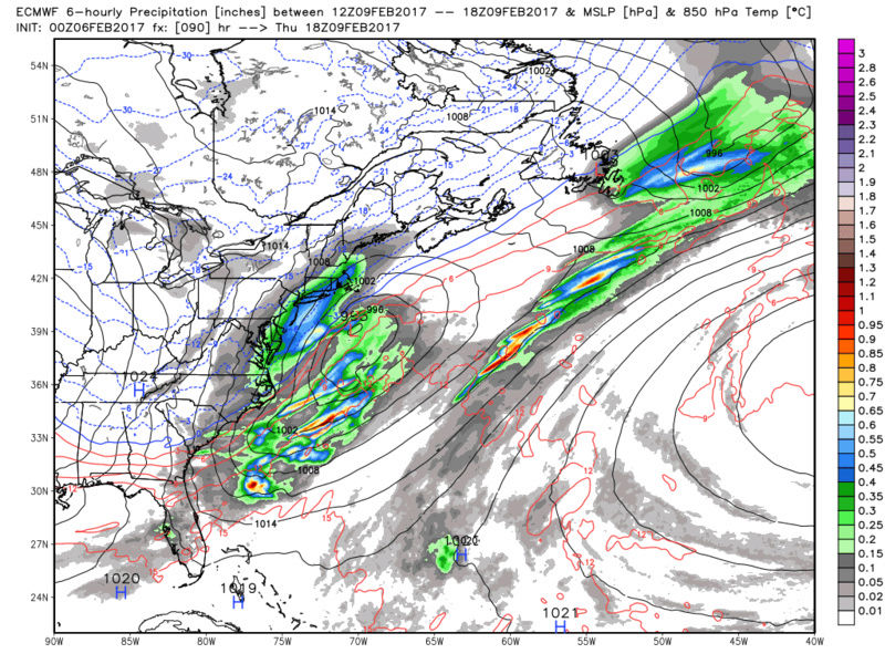 Possible Snowstorm Thursday, February 9th - Page 2 Ecmwf_27