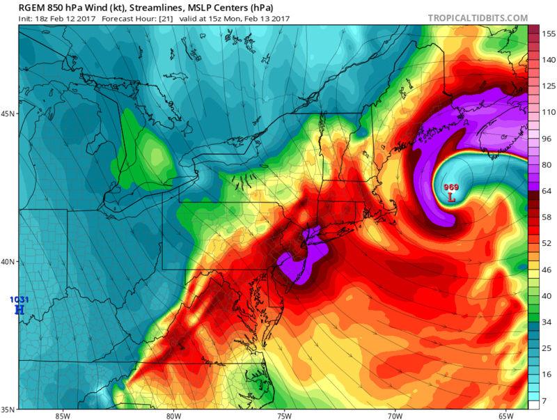 2/13/17 High Wind Event Warnings / Advisories Issued Rgem_m11