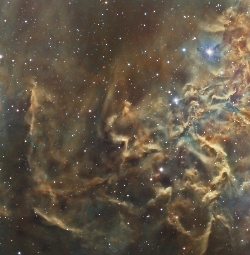 IC 405  Flaming star nebulae(le coeur) Ic_41010