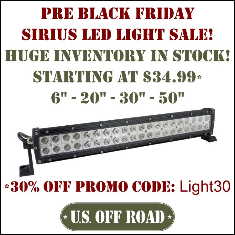 Pre Black Friday Sale - Sirius LED Lights Sirius10