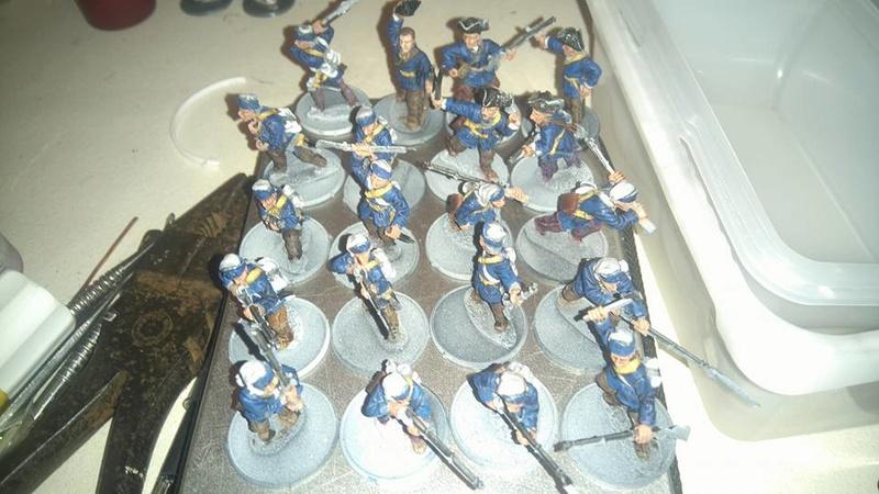 armée louis 15 15894310