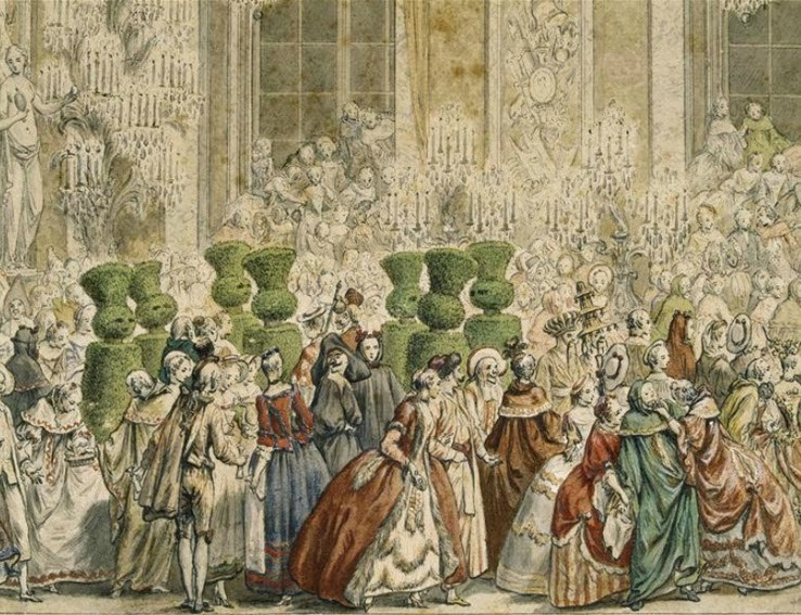 """Exposition à Versailles """"Fêtes et divertissements à la cour. - Page 2 10181210"""